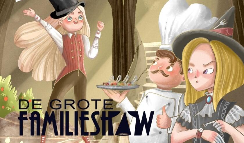 Kinderen staan centraal in deze familievoorstelling in het Studio26 Theater in Velp en worden actief betrokken.