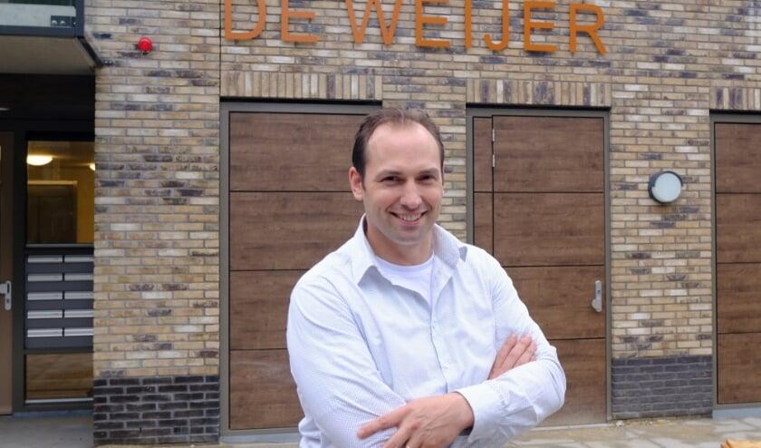 Michiel Moes is trots op het nieuwe woonzorgcentrum in Bunnik.