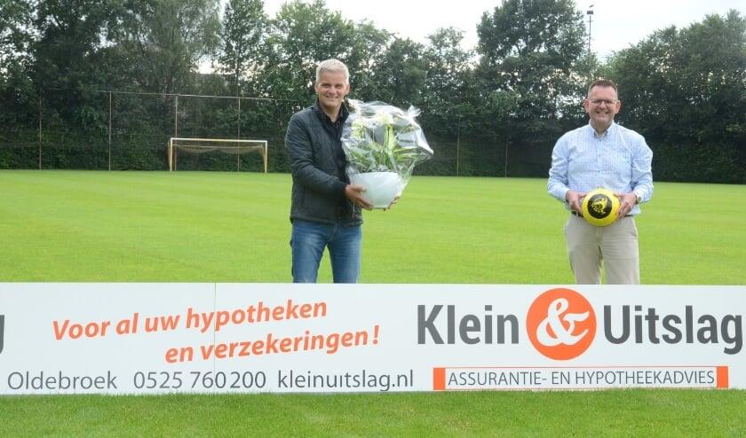 Beerd Doornewaard (l) en Christiaan Mulder.