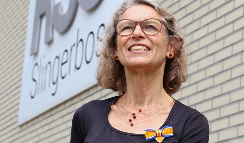 Irene Keizer is lerares op RSG Slingerbos / Levant in Harderwijk.
