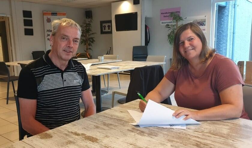 Henk van Oers en Monique Brandsma. (Foto: Privé)