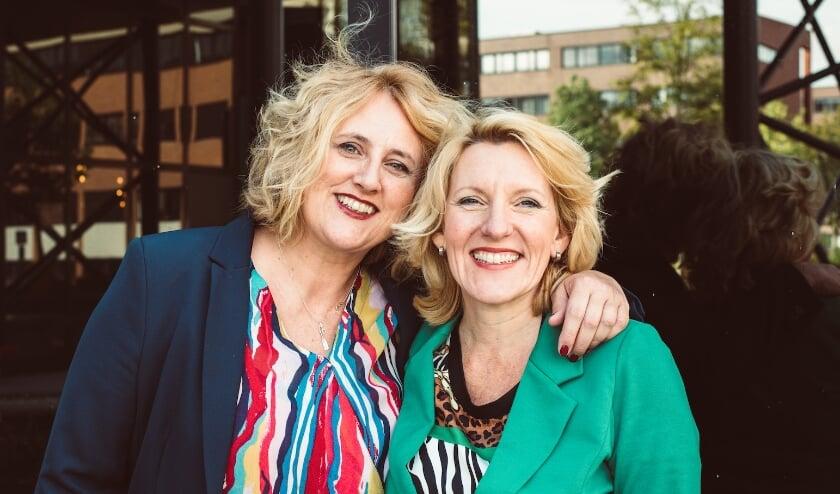 Trea ten Kate (links) en Helga de Boer, eigenaren van Platform 9.