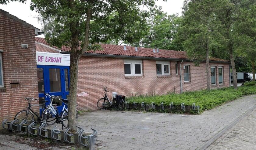 Wijkcentrum de Erikant is een gemeenschapshuis in de wijk Heikant, beheerd door de Stichting Wijkbelangen Heikant. FOTO: Bert Jansen.