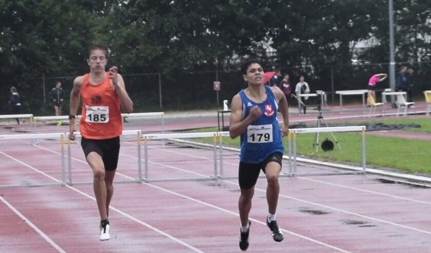 Jermaine Kleine liep een Twents record. (Foto: AC Tion)