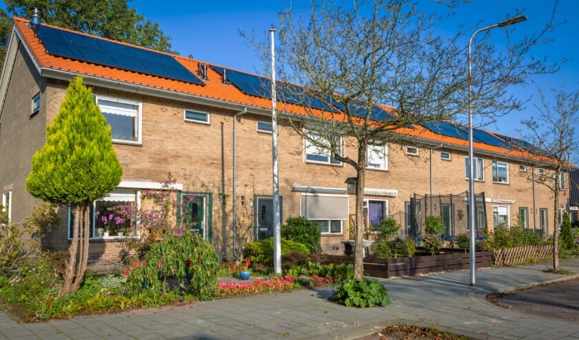 51 huurwoningen in Zwammerdam zijn  helemaal klaar. Foto: G.J. Voerman