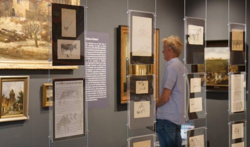 De nieuwe tentoonstelling toont een rijke collectie schetsen van Jan Voerman senior.