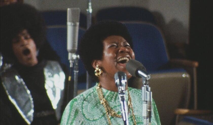 Eén van de zes voorstellingen is de documentaire over de live opnames voor het album 'Amazing Grace' van Aretha Franklin.