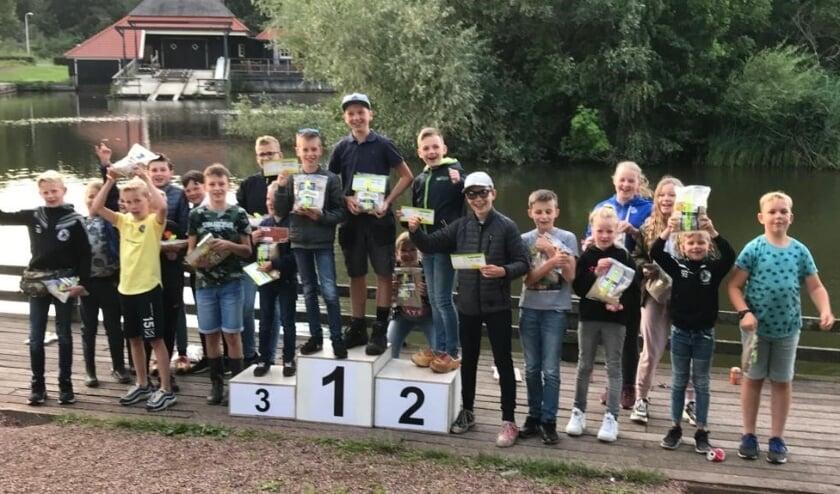 Alle deelnemers mogen trots zijn op het behaalde resultaat bij deze wedstrijd. (Foto: 't Zumpke)