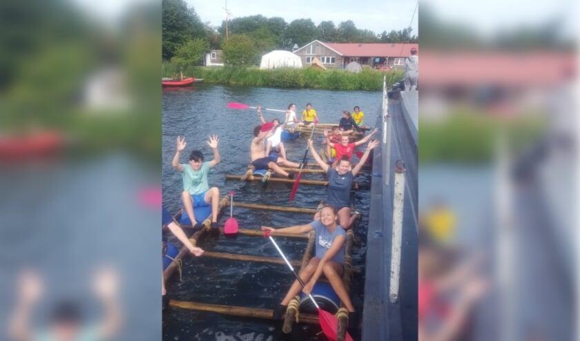 Gelukkig kon het zomerkamp van de scouts toch doorgaan. (Foto: Haagse Waterscouts)