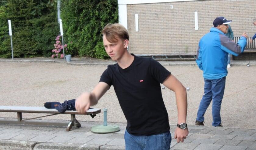 Koen Wentink van JBC de Toss in actie. (Foto: De Toss)