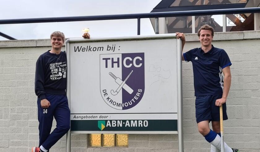 Patrick van de Giesen en Jan Visser