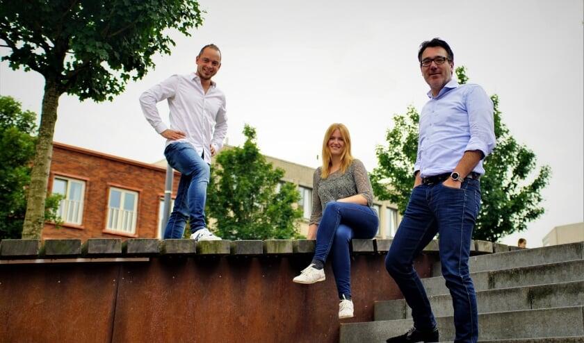 Sven Ruggenberg, Caroline Winter en Hilko Folkeringa maken er een leuke culturele zomer van in Zoetermeer. Foto: Robbert Roos