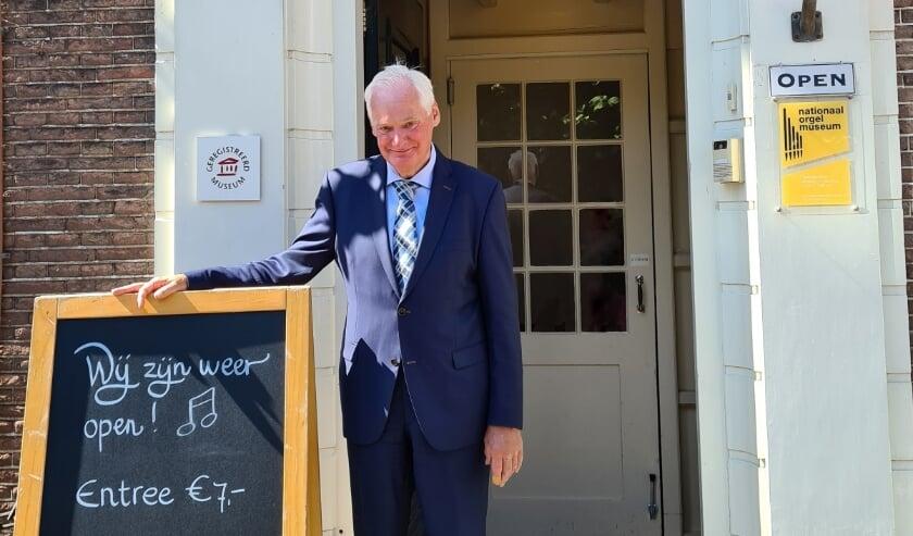 Nieuwe bestuursvoorzitter Gerrit Wijnne: ''Ook de huisvesting van het museum spreekt mij zeer aan.''
