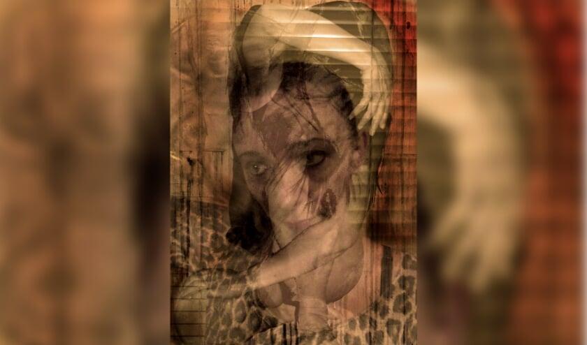 Just me, een reflectie van Beaty Czetö uit 2017, C-print van 70 bij 50 centimeter.