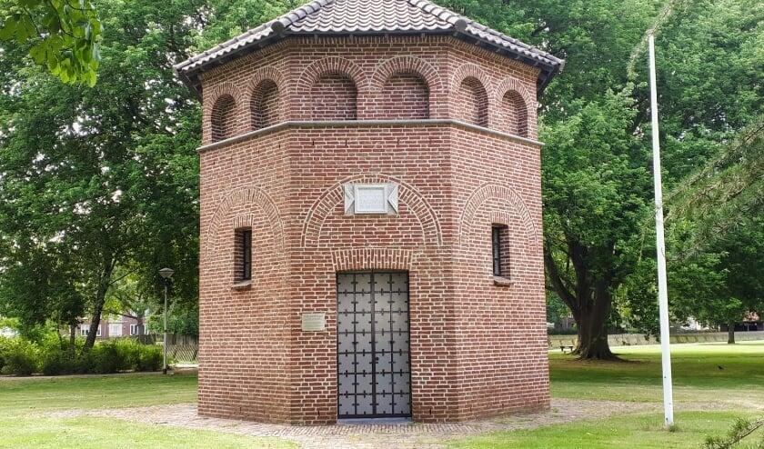 <p>Gedachteniskapel Sint-Jozef in het Hortensiapark.&nbsp;</p>