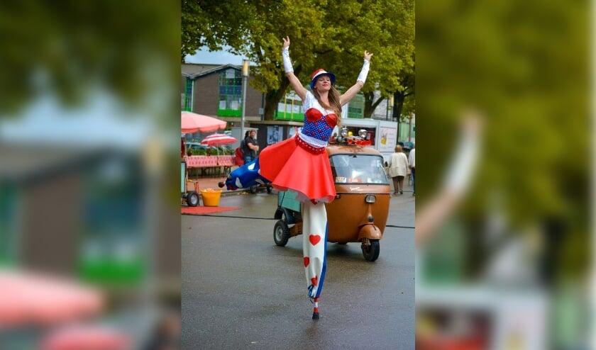Foto van het Straattheater Festival Rotterdam van een eerdere editie