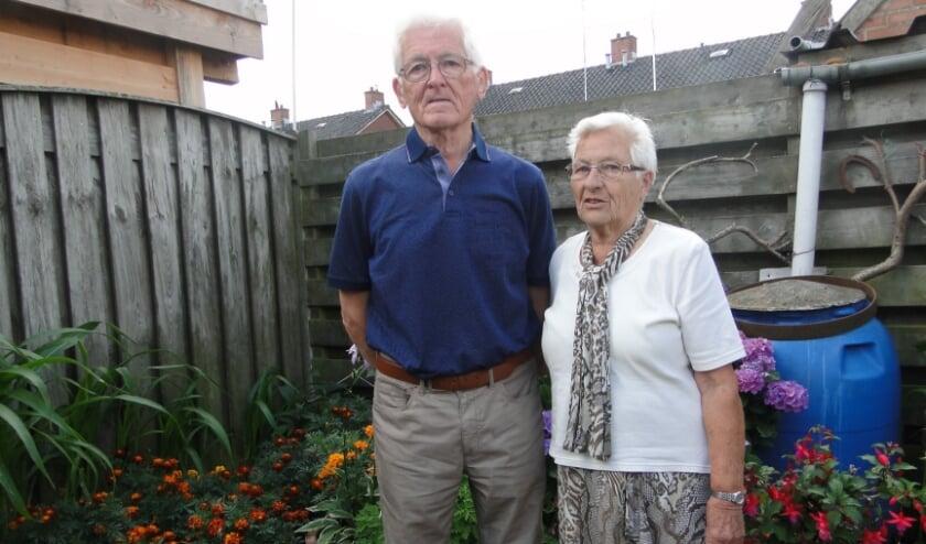 Herman Schulenburg en Dina Schulenburg - Voortman hadden zes jaar verkering voordat ze in 1960 trouwden.