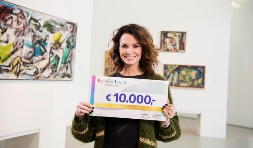 BankGiro Loterij-ambassadeur Leontine Borsato - 10.000 euro