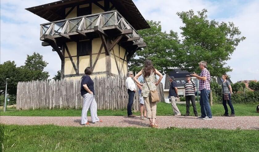 Museum Hoge Woerd houdt nu ook rondleidingen in de openlucht. Foto: Museum Hoge Woerd