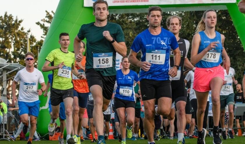 Ook dit jaar zijn start en finish op Sportpark de Heughte.