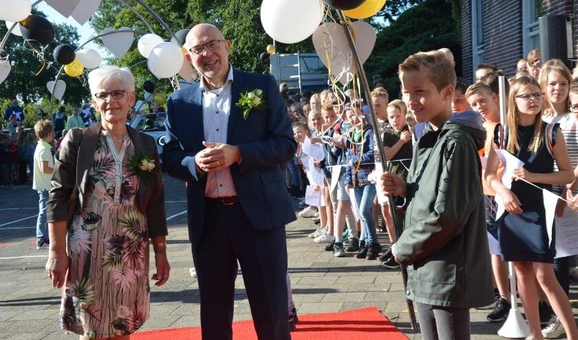 Het begin van een dag vol verrassingen voor Jan van der Stouwe en zijn echtgenote.