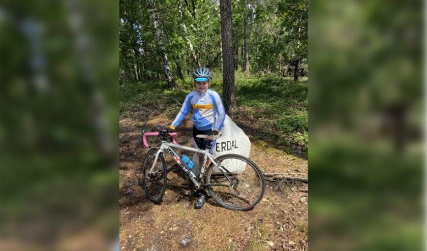 Rinske (11) maakt na de zomer haar droom waar door mee te doen aan de sponsortocht Ventoux3. (Eigen foto)