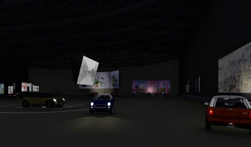 Uittip: kunst kijken in het Boijmans Ahoy drive-thru museum.