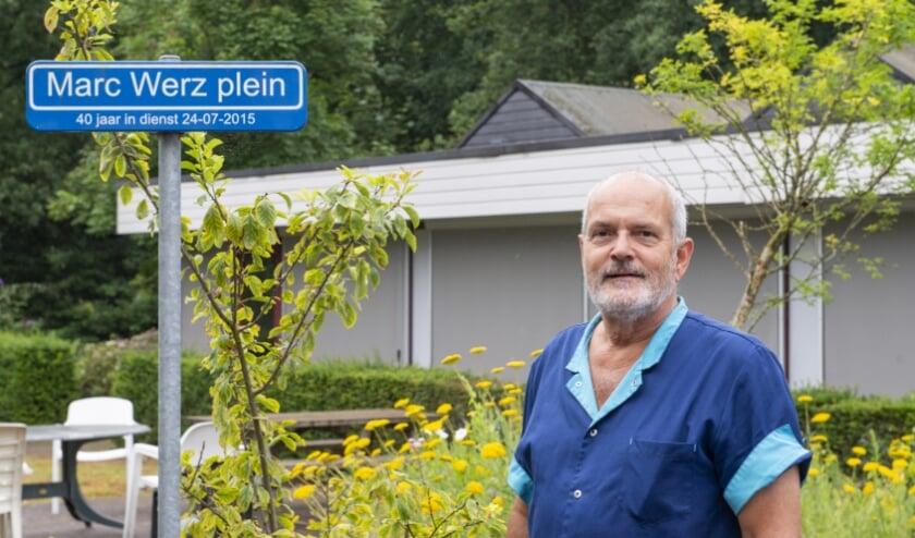 Marc Werz is 45 jaar in dienst bij Siza-vestiging 't Slath in Epe. Hij vertelt over z'n veelzijdige zorgcarrière.