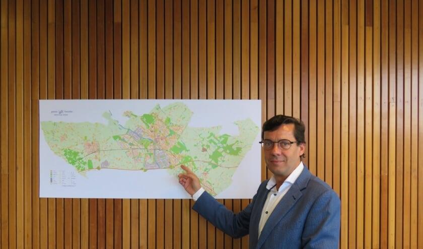 Wethouder Henk Bulten.