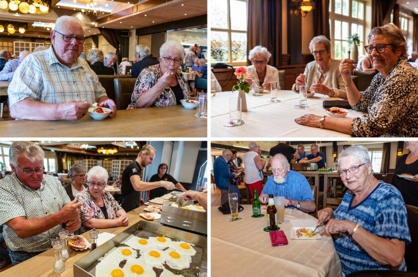 Enkele impressies van de seizoensafsluiting van Seniorensociëteit Groessen in Zalencentrum Gieling.
