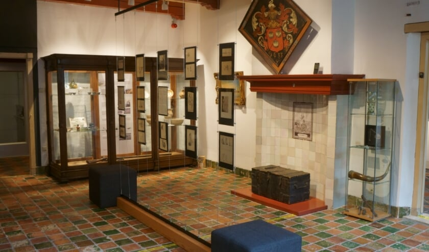 De nieuwe tentoonstelling in de Zicht op Hattem-zaal biedt volop ruimte aan schetsen van Jan Voerman senior.