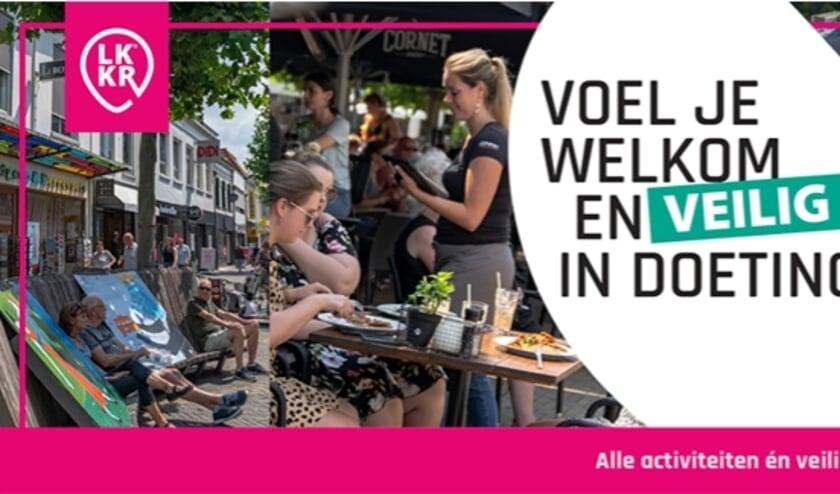 Campagne uiting Voel je welkom en veilig in Doetinchem