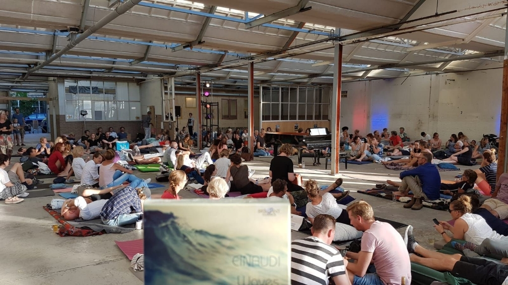 Publiek bij een eerder ligconcert in de Gelderlandfabriek Foto: eigen foto © DPG Media