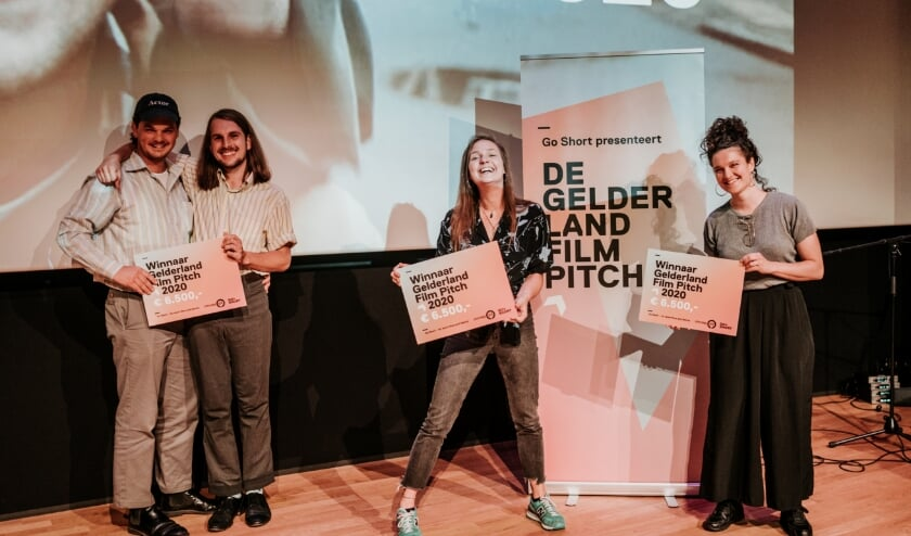V.l.n.r.: Matthieu Reijnoudt, Romar de Bonte, Katinka Schlette en Astrid Feringa.