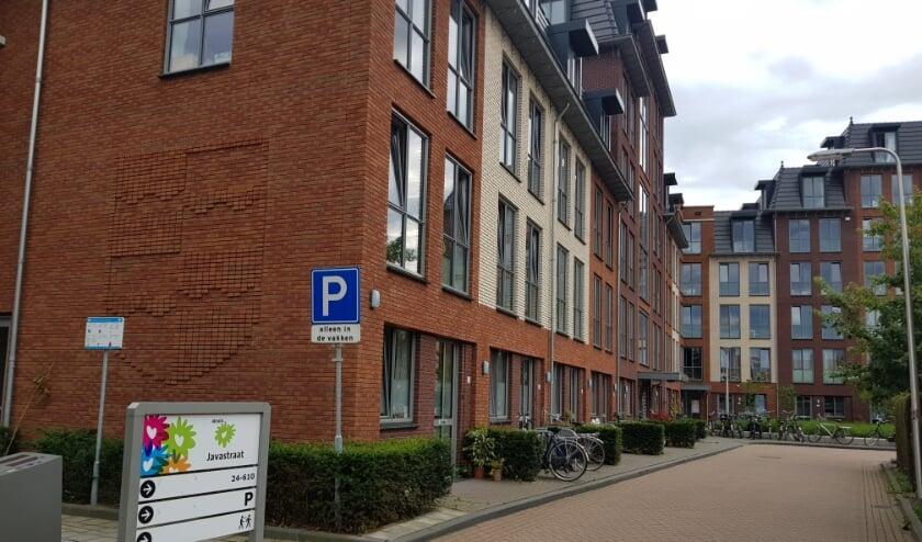 Het complex aan de Javastraat is al klaar voor de student van de toekomst. (foto: Kees Stap)