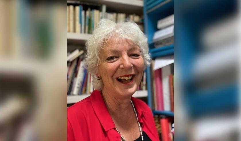 Jeanette van Ginkel neemt na 42 jaar afscheid van het Kalsbeek College. Foto: Edith Op de Woerd