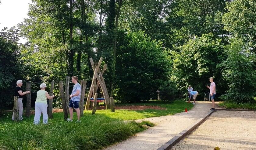 Stichting De Welle biedt deze zomer extra beweegactiviteiten aan. (Eigen foto)