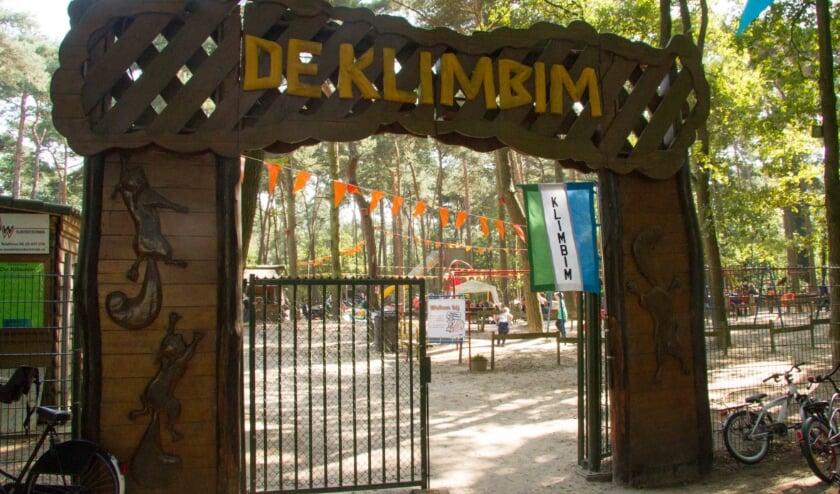 <p>De ingang van de Klimbim.</p>