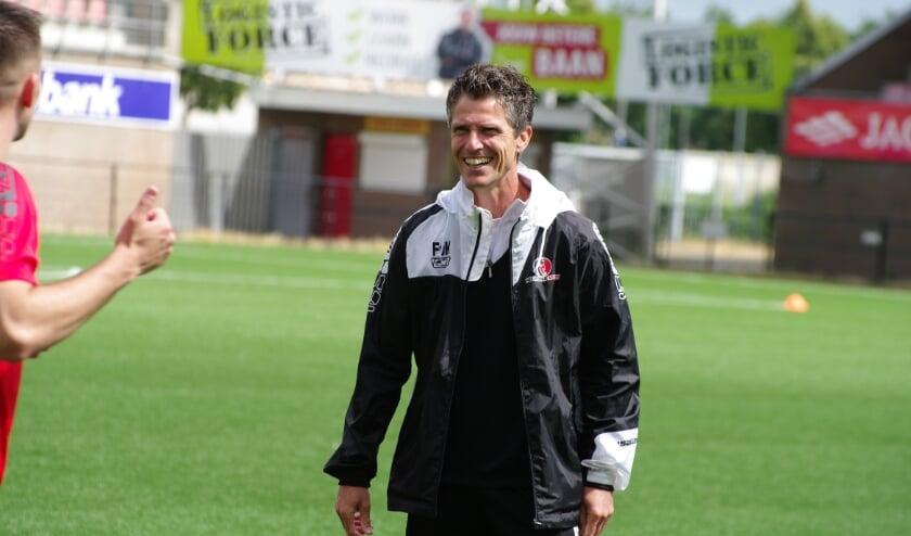Assistent-trainer Frank van Kempen.