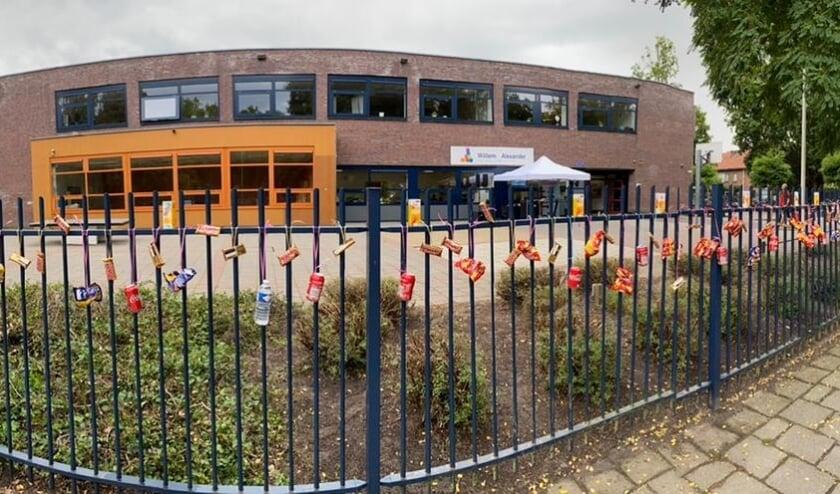 Hekborrel voor de ouders op de Willem Alexanderschool.