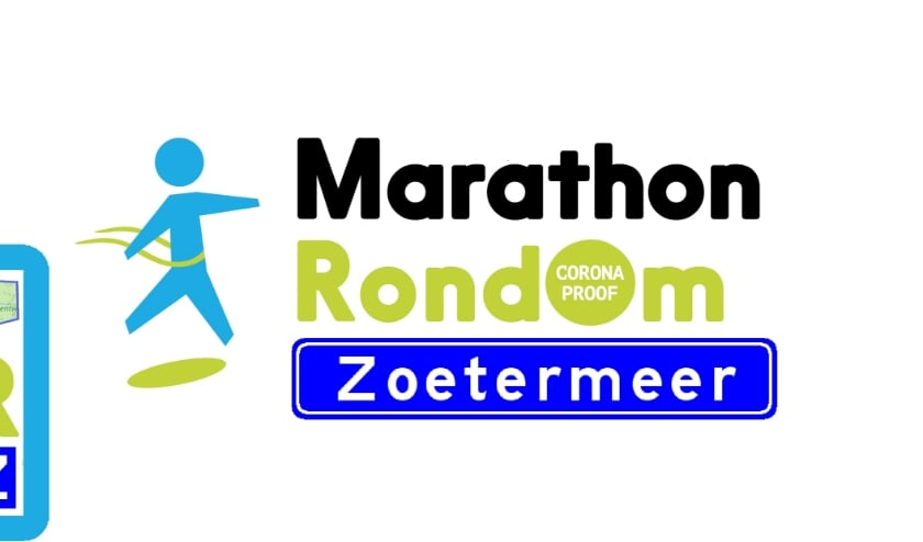 Marathon RondOm Zoetermeer logo en parcours