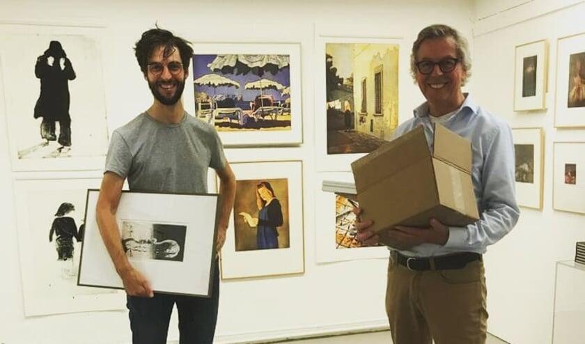 Meer dan 50 kunstwerken, van 11 grafische kunstenaars  zijn te zien in KunstindeKelder