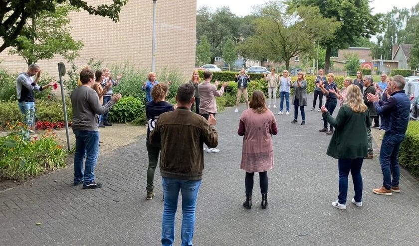 De workshops sloten af met een concert in de tuin bij Ludgerus.