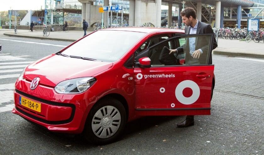 De deelauto. (Foto: Privé)