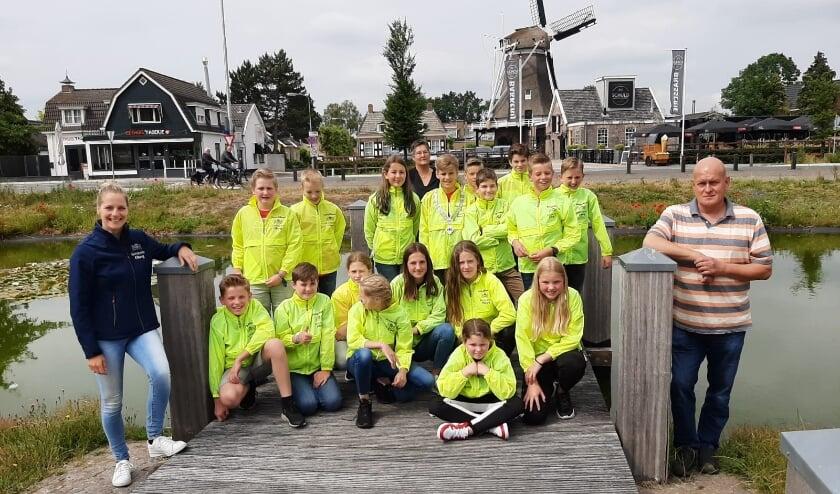 De leden van de jeugdraad. (Foto: Gemeente Elburg)