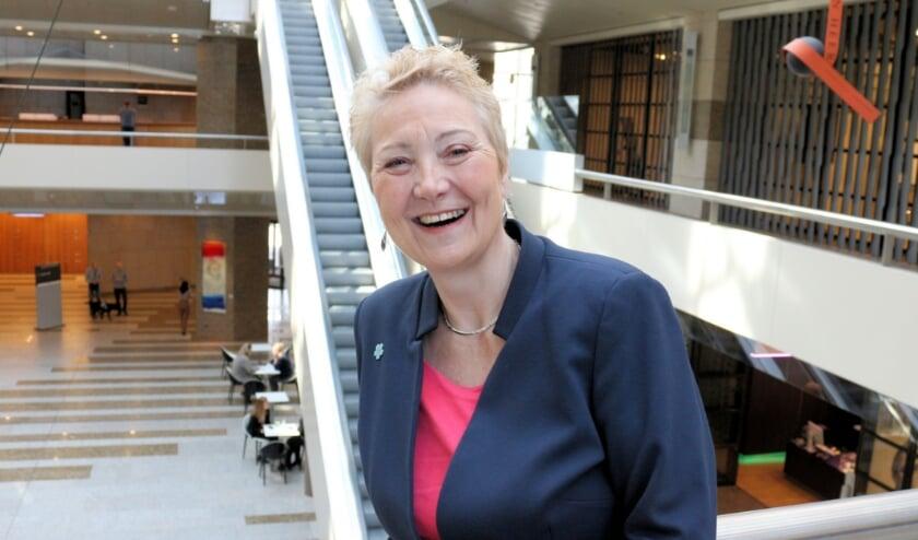 Corrie van Brenk - Fractievoorzitter 50PLUS. Foto: E. Sahin