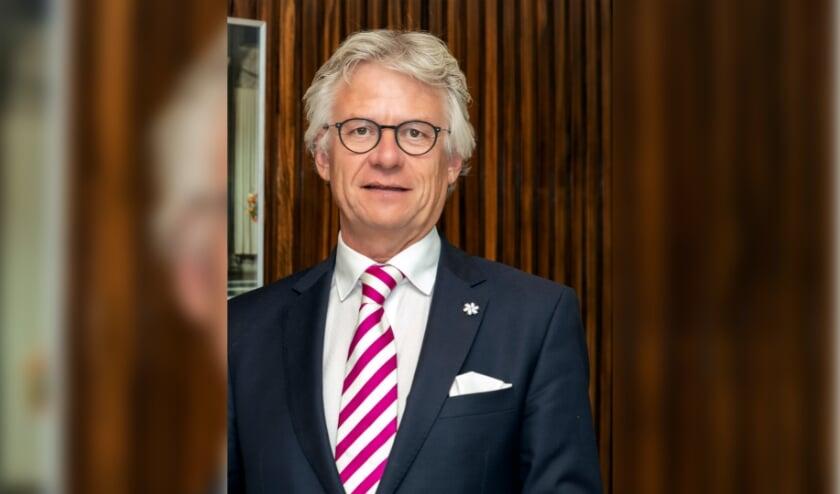 <p>De Gelderse commissaris van de koning John Berends.</p>