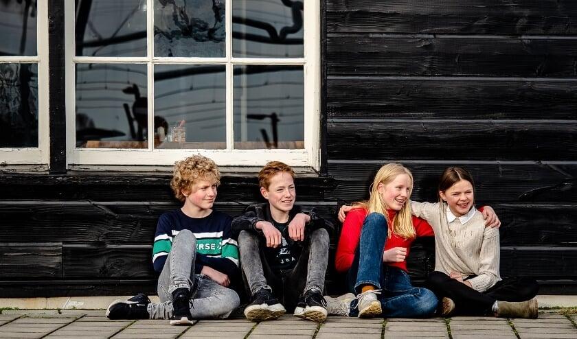 Zichtbaar genieten de jongeren van de projectdagen van OFFLINE, (Foto: Maaike Davina)