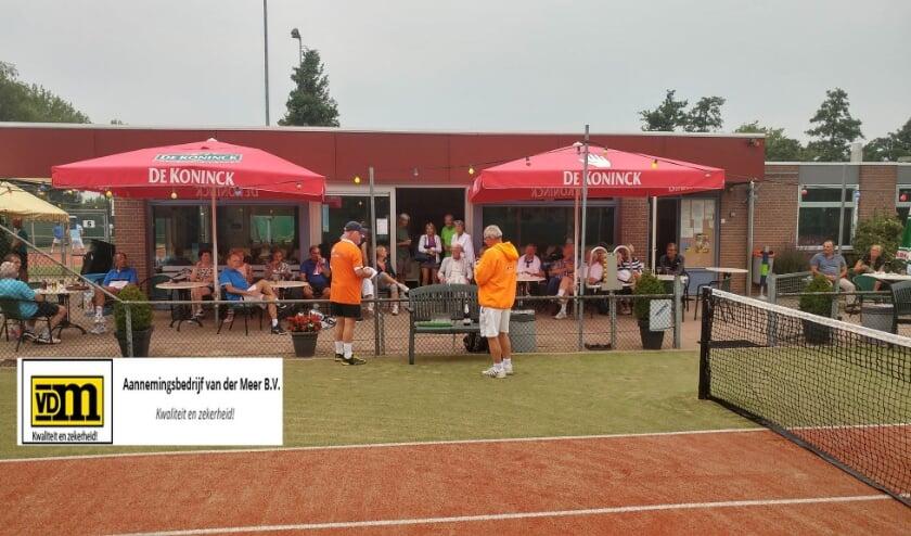 Het eerste Van der Meer open 50+ toernooi wordt gehouden op vrijdag 21 augustus. Archieffoto: Mike Reumer