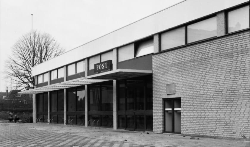 Het nieuwe postkantoor in 1971 (Coll. Weerderheem).